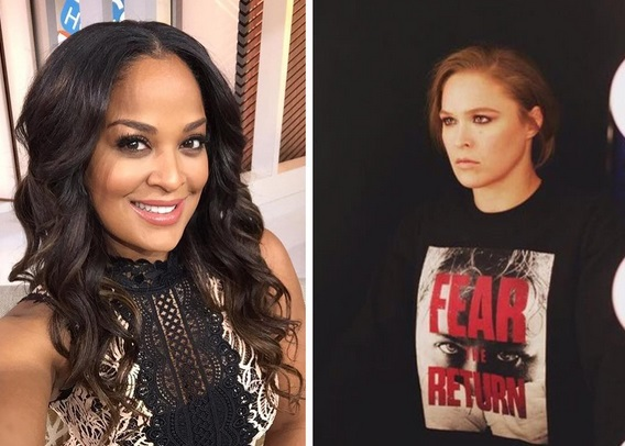 Laila Ali Sets the Record Straight on Ronda Rousey