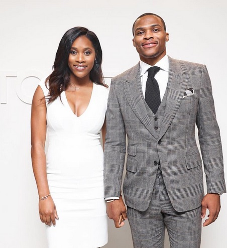 Russell Westbrook Wishes Wife a Sweet Happy Birthday