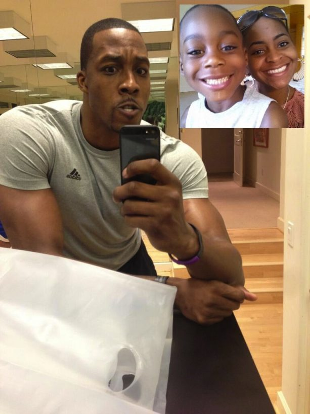 Dwight Howard's Baby Mama Says He Only Calls On His Son's B-Day