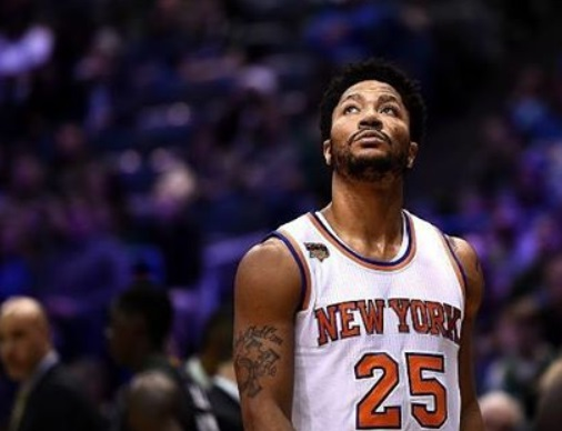 Knicks Twitter Account quickly deletes their Savage Tweet Aimed at Derrick Rose