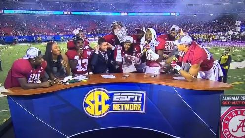 The Only Thing That Can Slow Alabama Down Is The SEC Network's Set