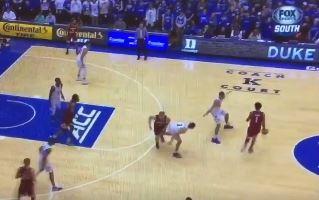 Duke's Grayson Allen Back to Tripping Opponents