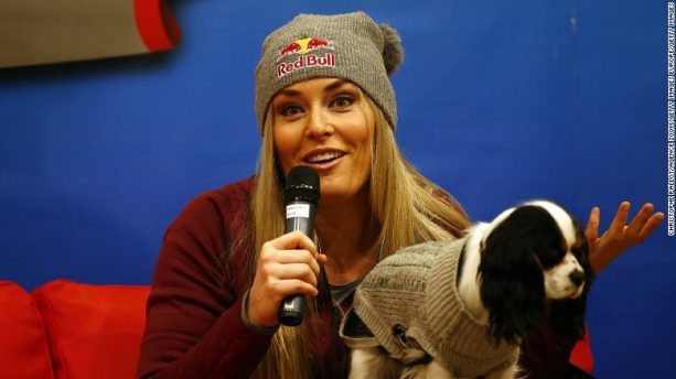 Lindsey Vonn Recreates Lady and the Tramp