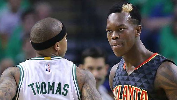 Isaiah Thomas Denies Trash Talking Dennis Schröder's Mom