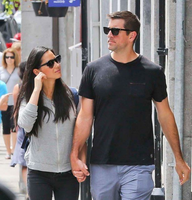 Aaron Rodgers and Olivia Munn Spotted Back in Wisco