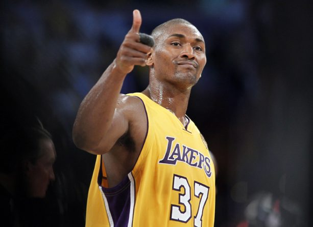 Metta World Peace Parties it up in Vegas