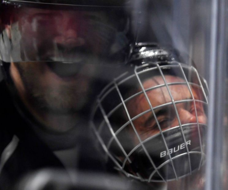 Chris Pronger Checked And Pinned Justin Bieber Into The Boards During The NHL All-Star Celebrity Shootout