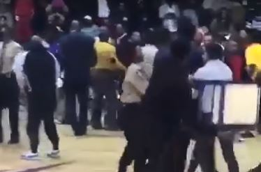 Brawl Breaks Out At Division II Basketball Game After A Fan Hit A Player With A Chair