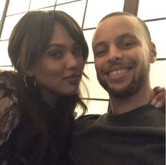 Steph and Ayesha Curry Cutting up in the Club