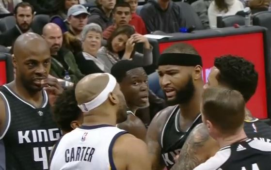 DeMarcus Cousins Acts Like A Baby After Technical Foul Call