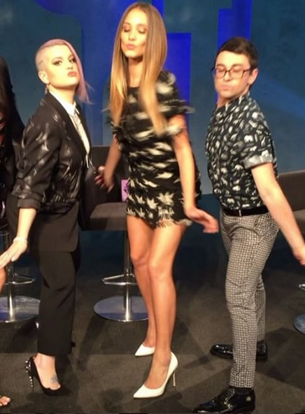 Hannah Jeter Shakes it on Project Runway Junior
