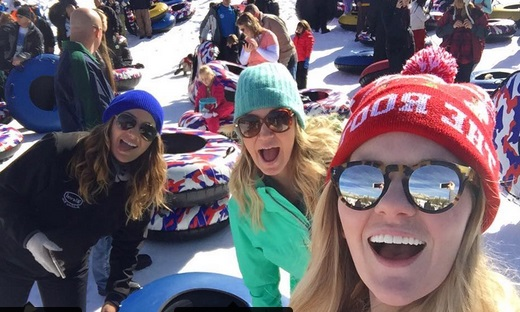 Michelle Beadle's Snowcation is Better than Yours