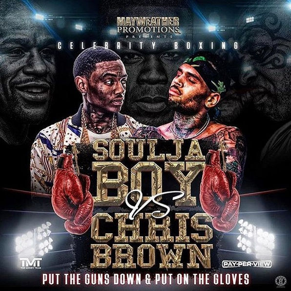 Now the Chris Brown/Soulja Boy Boxing Match has a National Anthem Singer