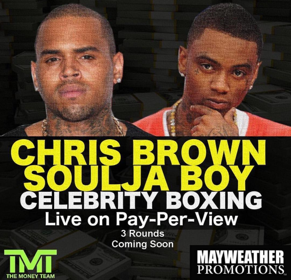 Chris Brown v. Soulja Boy Betting Odds