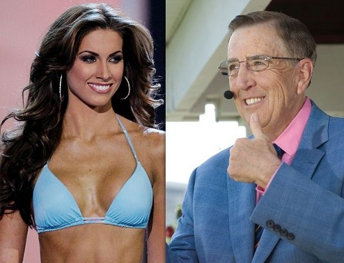 Katherine McCarron Sends Nudes To Brent Musburger For His Retirement?
