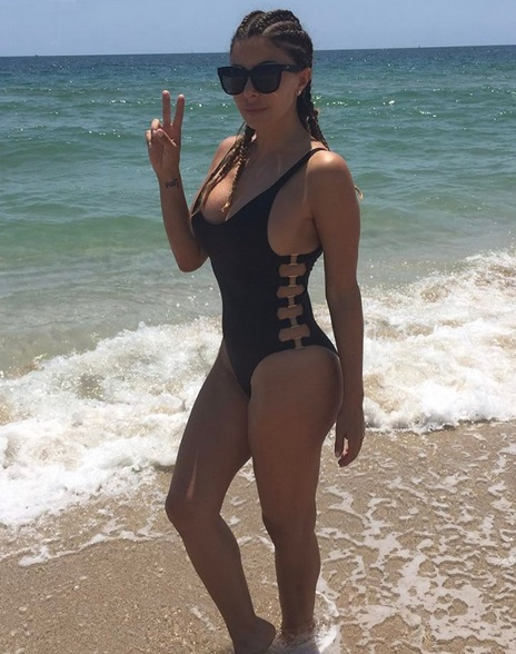 Larsa Pippen's Uniform is Swimwear