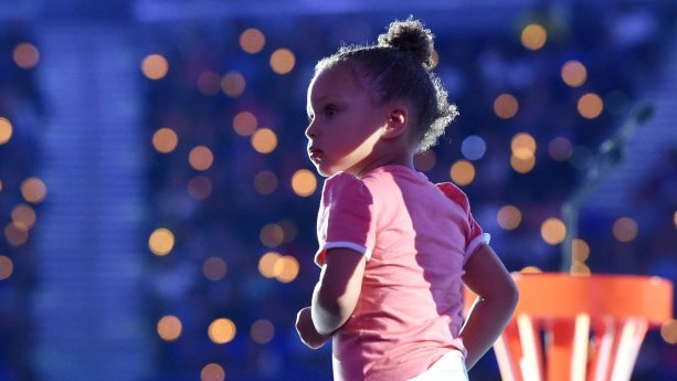 Riley Curry Had a Dab-Off Worth Watching