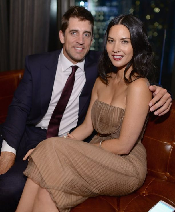 Olivia Munn Pens Thank You Note to Aaron Rodgers Fans
