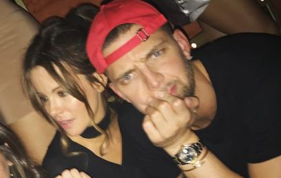 Chandler Parsons Brought In The New Year With Kate Beckinsale