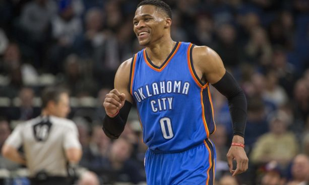 Russell Westbrook Commits Most Obvious Travel in NBA History