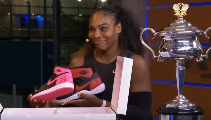 Serena Williams Was Gifted Custom Jordans After Her 23rd Grand Slam Title