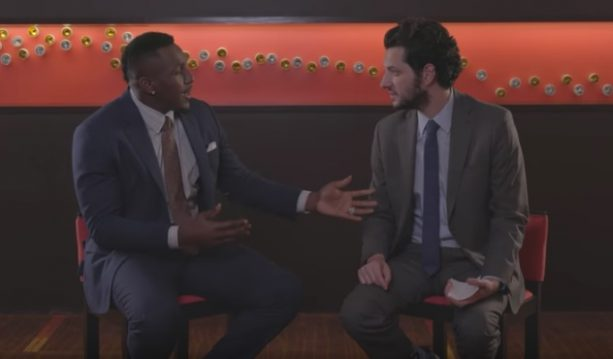 """Nice Guy"" Thomas Davis & ""Funny Guy"" Ben Schwartz Crack Jokes"