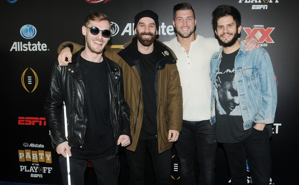 Tim Tebow Hangs with the X Ambassadors