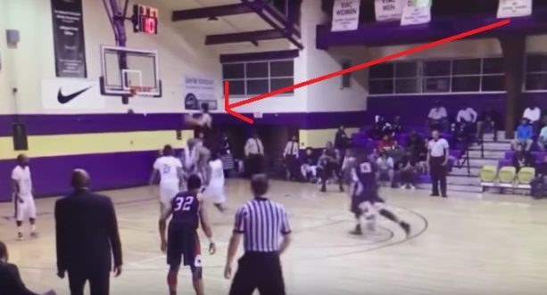 DII Basketball player Went Space Jam Last Night