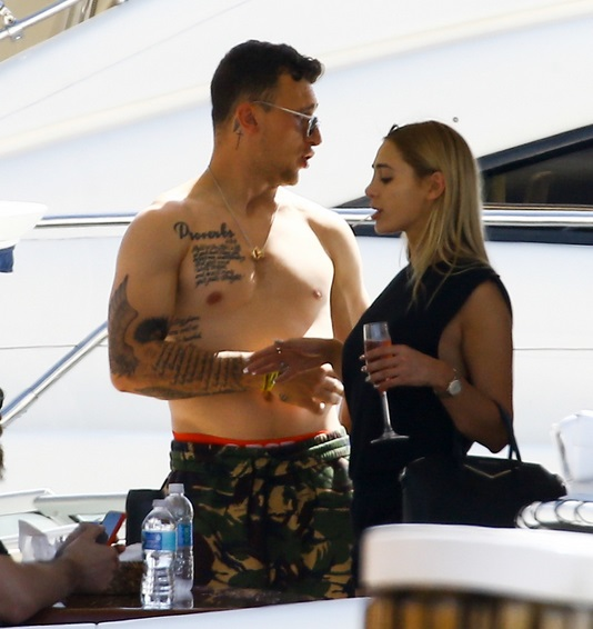 Check Out Johnny Manziel on a Yacht Partying with Hot Chicks