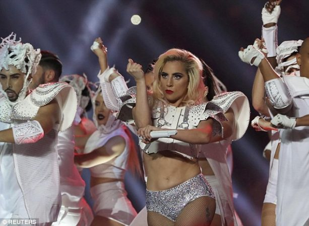 Some People Were Not Feeling Lady Gaga's Belly Roll