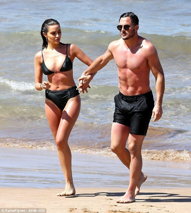 Danny Amendola and Olivia Culpo Hit the Beach in Hawaii