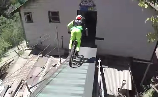 Follow the Leader Urban Downhill MTB Edition
