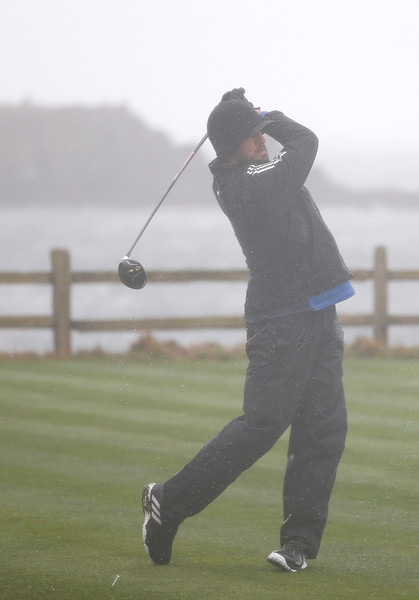 Aaron Rodgers At The AT&T Pebble Beach National Pro-Am