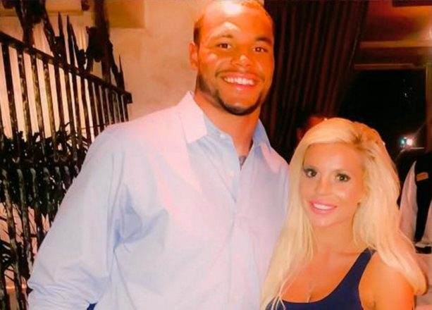 "Dak Prescott Still Hanging With Instagram ""Model"""