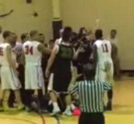 DIII Men's Basketball Game Ends With A Brawl
