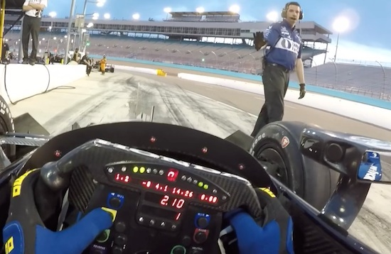 POV From An Indy Car Is Pretty Cool
