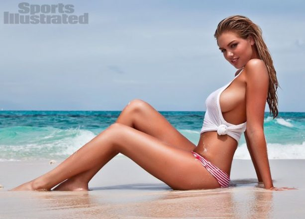 Kate Upton Throws Temper Tantrum Over Swimsuit Cover