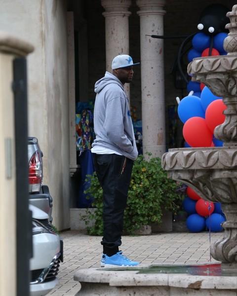 Lamar Odom Attends a Celebutot's Birthday