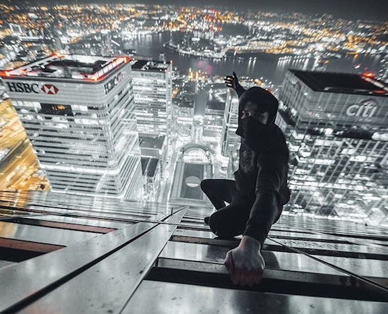 Rooftopping Canary Wharf Is Insane