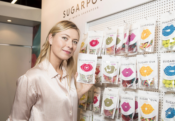 Maria Sharapova Celebrates Chocolate Line Expansion