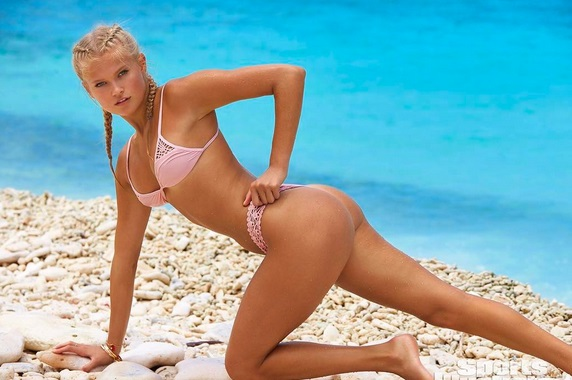 Meet the Next Blue-eyed Beauty SI Swimsuit Rookie