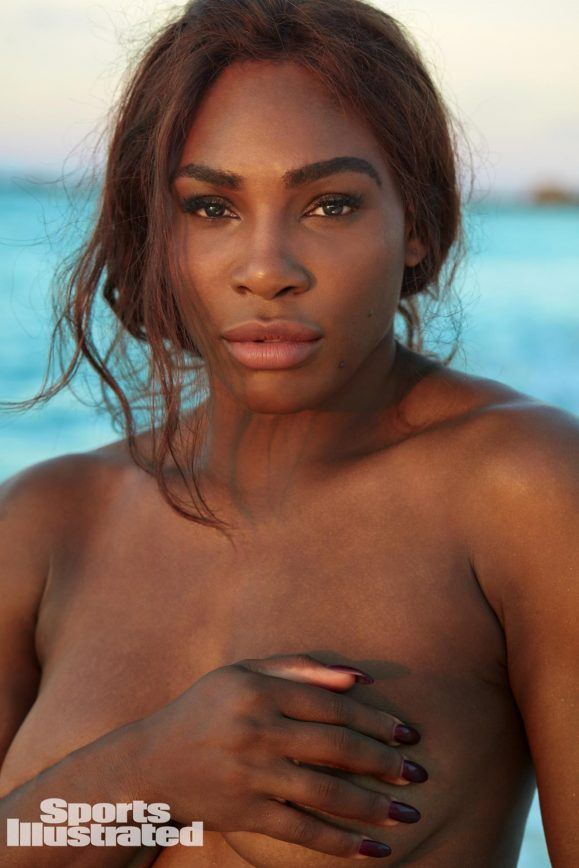 Serena Williams Strips Down for SI Swimsuit Shoot