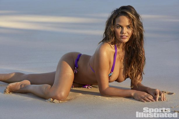 Chrissy Teigen's SI Swimsuit Pics Will Make Your Mouth Water