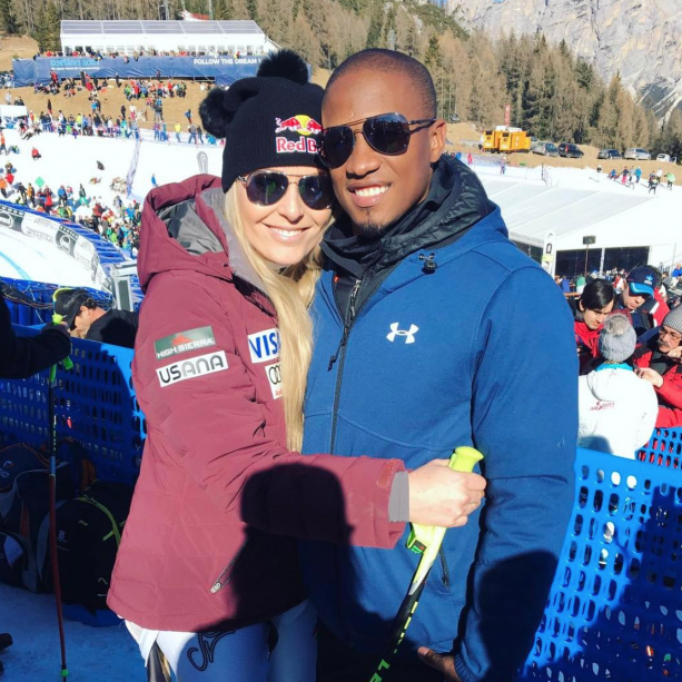 Lindsey Vonn Gets Support From Her New Man