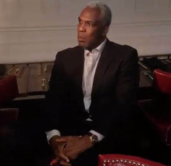 Charles Oakley Talks To The Media After Being Arrested