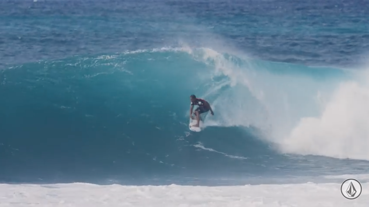 Surfer Soli Bailey  Is Your Volcom Pipe Pro Champion