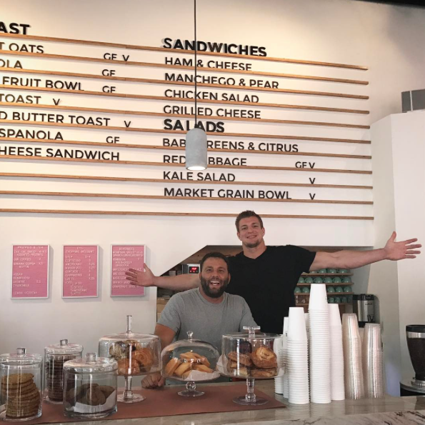 Rob Gronkowski Working As A Barista In South Beach?
