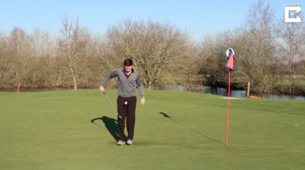 Golfer Pulls Off Amazing Trick Shot