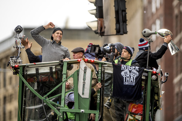Tom Brady Pictures From The New England Patriots Victory Parade