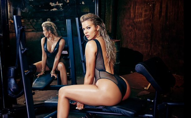 Tristan Thompson's Girlfriend Works Out In Front of Her Cover